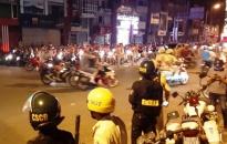 Không để ùn tắc giao thông và không có đua xe trái phép sau trận đấu bóng đá chung kết lượt đi Giải vô địch bóng đá Đông Nam Á