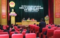 Kỳ họp thứ 7, HĐND quận Kiến An, khóa 4, nhiệm kỳ 2016-2021: Phấn đấu thu cân đối ngân sách tăng từ 10% trở lên