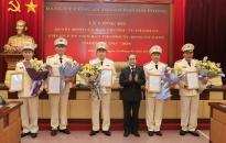 Chuẩn y Ủy viên Ban thường vụ Đảng ủy CATP