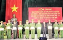 Huyện Tiên Lãng: Củng cố vững chắc thế trận an ninh nhân dân