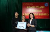 Khánh thành nhà Mái ấm tình thương tặng hội viên nghèo