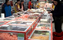 Tổng mức bán lẻ hàng hóa tăng 15,34%
