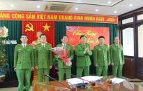 CATP khen thưởng CAQ Dương Kinh và CAH Cát Hải