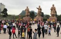 Đảm bảo ANTT lễ khai ấn tại khu di tích Bạch Đằng Giang