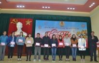 Liên đoàn Lao động quận Kiến An: Dành 113 triệu đồng cho chương trình 'Tết sum vầy'