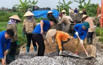 Quận Đồ Sơn: Tiếp nhận hơn 10 nghìn tấn xi măng làm đường giao thông nội đồng