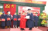 Trường Đại học dân lập Hải Phòng: Trao bằng tốt nghiệp cho 126 sinh viên