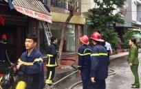Kịp thời cứu người khỏi đám cháy