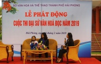 Cuộc thi Đại sứ Văn hóa đọc- Lan tỏa niềm đam mê đọc sách