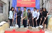 Quận Lê Chân: Khởi công xây dựng, sửa chữa nhà ở cho gia đình có công với cách mạng