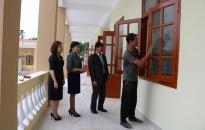 Hoàn thành xây lắp dãy nhà 3 tầng Trường tiểu học Đại Bản (An Dương)