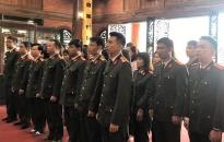 Phòng Hậu cần: Tham quan khu di tích Tân Trào và ATK Định Hoá