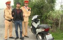 Phòng Cảnh sát giao thông Công an Thái Bình: Bắt giữ đối tượng trộm cắp xe máy