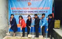 Quận đoàn Kiến An: Khởi công xây dựng Nhà nhân ái