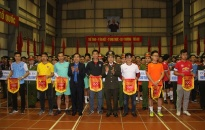 Khai mạc giải bóng đá, kéo co thanh niên Công an tỉnh Thái Bình mở rộng 2019