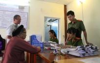 CAH An Dương:  Cấp CCCD 47 người dân thuộc diện gia đình chính sách