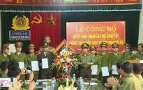 CATP Thái Bình: Thành lập đội Cảnh sát phòng cháy chữa cháy và cứu nạn cứu hộ