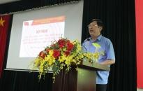 Sở Thông tin và Truyền thông Học tập, quán triệt Nghị quyết 45-NQ/TW của Bộ Chính trị