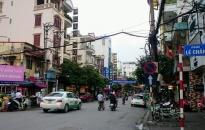 Từ ngày 10-4, chính thức tổ chức lại giao thông 9 tuyến phố trung tâm thành phố