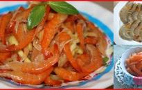 Đổi vị với tôm chua miền Tây