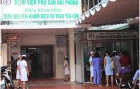 Về trường hợp bệnh nhân tử vong sau khi phẫu thuật tại BV Phụ sản Hải Phòng