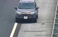Đi ngược chiều trên cao tốc, lái xe bị tước giấy phép 5 tháng