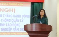 Quận Dương Kinh tăng cường quản lý các nguy cơ về ATVSLĐ