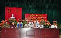 Xã Quang Trung (An Lão): Triển khai mô hình liên kết bảo đảm ANTT