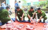 Công an tỉnh Thái Bình mua hơn 22 tấn thịt lợn ủng hộ người chăn nuôi