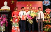 Quận ủy Hồng Bàng: Công bố Quyết định thành lập Chi bộ Công ty CP Công nghiệp Điện Hải Phòng
