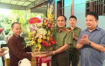 Lãnh đạo Công an tỉnh Thái Bình: Thăm và chúc mừng nhân dịp Đại lễ Phật đản 2019
