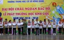 Trường THCS Hồng Bàng (quận Hồng Bàng): Nhiều học sinh đoạt giải cao các cuộc thi hội nhập quốc gia và quốc tế