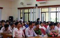 CAQ Lê Chân:  Tập huấn cấp chứng chỉ huấn luyện nghiệp vụ PCCC và CNCH