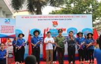 Quận đoàn Lê Chân: Ra quân chiến dịch thanh niên tình nguyện hè 2019