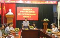 Đại biểu HĐND TP tiếp xúc cử tri tại Sở Văn hóa và Thể thao