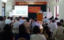 Dự án đầu tư tu bổ, tôn tạo quần thể di tích bến tàu không số K15: Cộng đồng dân cư phường Vạn Hương nhất trí cao với điều chỉnh quy hoạch