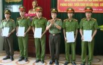 Công an huyện Hưng Hà, tỉnh Thái Bình thành lập đội Cảnh sát PCCC và CNCH