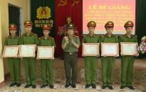 Công an tỉnh Thái Bình: Bế giảng lớp huấn luyện chiến sĩ nghĩa vụ năm 2019