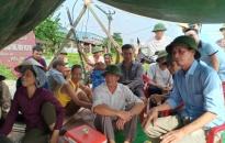 Về việc người dân quây bạt trước cổng nhà máy gây ô nhiễm môi trường tại Lê Thiện (An Dương): Yêu cầu Cty CP thương binh Đoàn Kết dừng hoạt động sản xuất