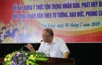 Chương trình Ngày đoàn viên năm 2019 huyện Tiên Lãng