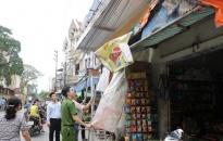 Quận Lê Chân:  Tăng cường giải tỏa vi phạm hành lang an toàn giao thông