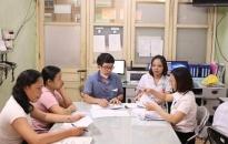 BV Phụ sản Hải Phòng: Thanh toán viện phí cho người bệnh tại khoa ngay khi xuất viện
