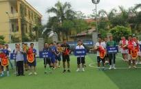 Khai mạc Giải bóng đá Cụm thi đua các quận