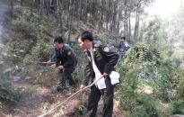Cháy 2,18 ha rừng