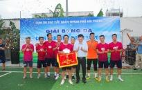 Quận Lê Chân: Đoạt giải Nhất Giải Bóng đá Cụm thi đua các quận năm 2019