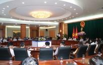 Đảng ủy Cơ quan Văn phòng UBNDTP: Quán triệt Nghị quyết 45-NQ/TW