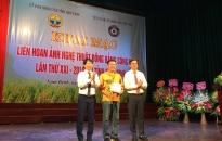 Khai mạc Liên hoan ảnh nghệ thuật Đồng bằng sông Hồng lần thứ 21- năm 2019 NSNA Nguyễn Viết Rừng (Hải Phòng) đoạt Huy chương Vàng