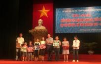 Sở Văn hóa và Thể thao  Khen thưởng gần 220 học sinh giỏi, xuất sắc năm học 2018 - 2019