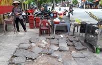 Đề xuất cải tạo hệ thống hè, mở rộng đường qua trung tâm thị trấn An Dương