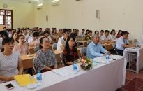 Đảng ủy khối doanh nghiệp – Trường chính trị Tô Hiệu:  Khai giảng lớp Trung cấp lý luận chính trị - hành chính khóa 2